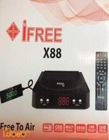 iFree receiver 5000 channels memory Black color ifree X88
