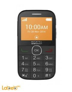 Alcatel one touch mobile - 3MB - 2.4 inch - Black - 2004C model