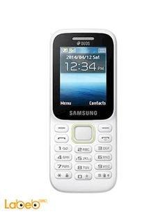 Samsung SM-B310E mobile - 4MB RAM - Dual sim - 2 inch - White