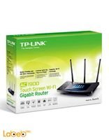 TP-Link AC1900 Touch Screen WiFi Gigabit Router Black Touch P5