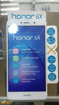 Huawei honor 6X smartphone, 32GB, 5 5inch, gold, BLN-L21