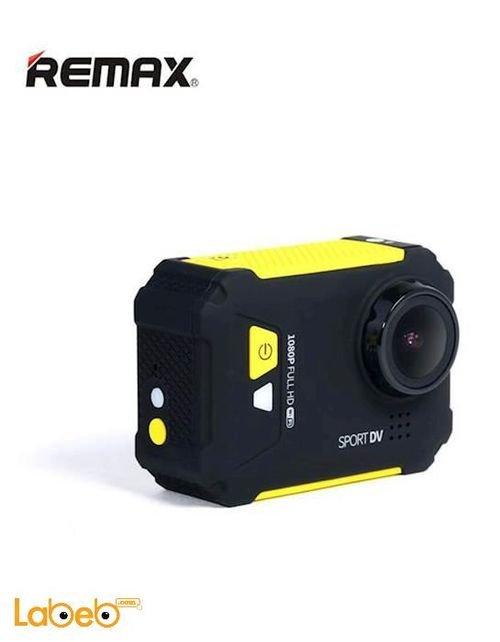 كاميرا ريماكس الرياضية 12 ميجابكسل 1080 بكسل أصفر SD01