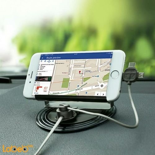 Remax Letto Car Holder charger cable magnetic RC-FC2 model