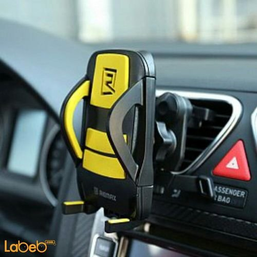 Remax Car Holder Rm-C03 360° rotation Black & Yellow