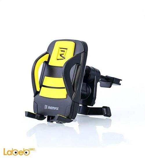 Remax Car Holder Black & Yellow Rm-C03 model