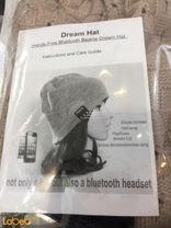 سماعة بلوتوث على شكل قبعة شتوية Dream hat لون بيج
