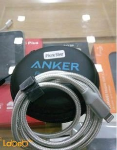 Anker USB charging Cable - for iphone - 0.9m - Silver color