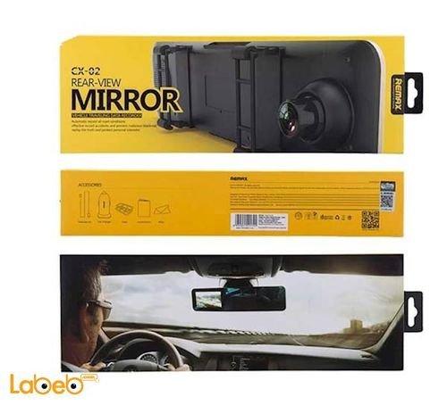 مرآة رؤية خلفية للسيارة ريماكس 4.3 انش 1080 بكسل CX-02