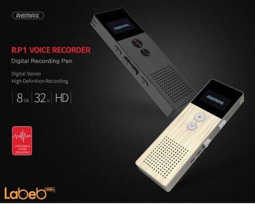 مسجل صوت رقمي محمول ريماكس 8 جيجابايت HD موديل RP1