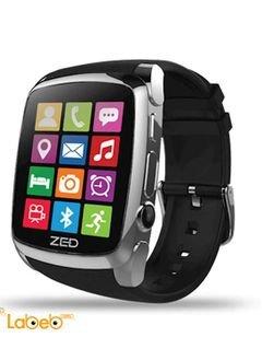 ساعة ذكية ILife - شاشة 1.54 انش - لون أسود - ZED Watch