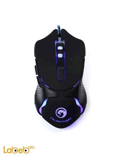 Marvo gaming lighting mouse USB port Black color M309 model