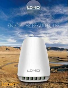 Ldnio Home Charger - 6 USB port - 5.4A - white color - A6573