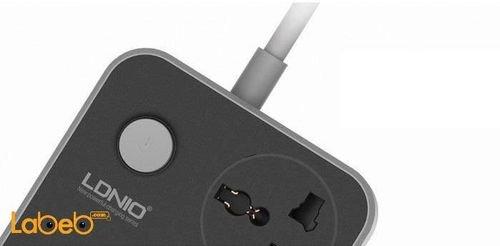 زر تشغيل موزع طاقة 3 مداخل لدنيو 6 منافذ USB موديل SC3604
