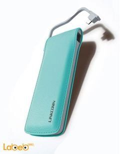 Linkcomn power bank - 6000mAh - bright blue - nova 60 model