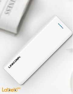 Linkcomn power bank - 15000mAh - 2xUSB - white - Jokul 150 model