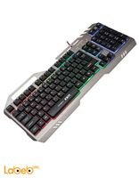 Marvo keyboard gaming USB2.0 port Black K611 model