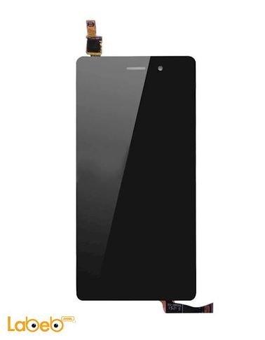 شاشة LCD موبايل هواوي P8 - تدعم اللمس - 5.2 انش - أسود
