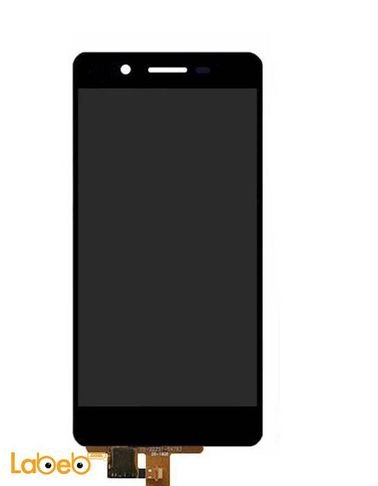 شاشة LCD موبايل هواوي GR3 - تدعم اللمس - 5 انش - أسود