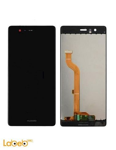 شاشة LCD موبايل هواوي p9 - تدعم اللمس - 5.2 انش - أسود