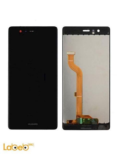 شاشة LCD موبايل هواوي p9 تدعم اللمس 5.2 انش أسود