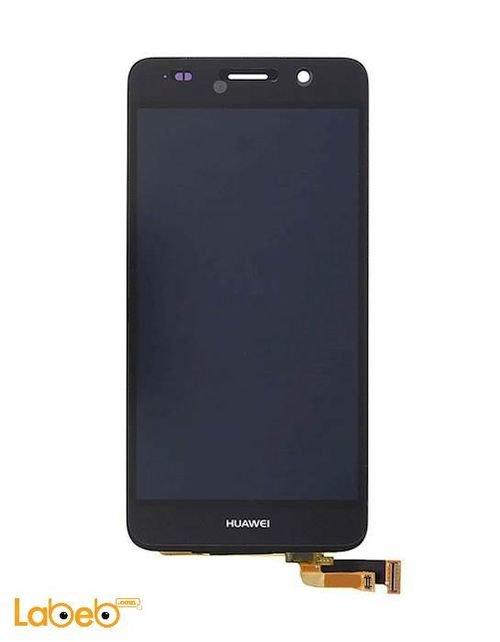 شاشة LCD موبايل لجهاز هواوي y6 تدعم اللمس 5 انش أسود