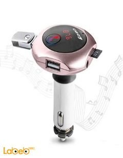 Modulater Q7 Bluetooth Car MP3 FM Transmitter - Dual USB Charger