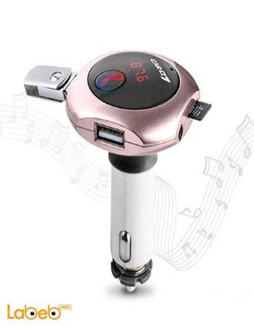 جهاز تحويل موجات راديو اف ام Modulater منفذين USB موديلQ7