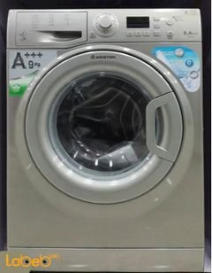 Ariston Front Loading Washer - 9Kg - stainless - WMG 9437S EX