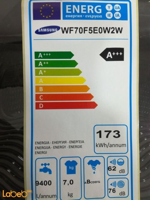 specifications Samsung Front Load Washing Machine WF70F5E0W2W