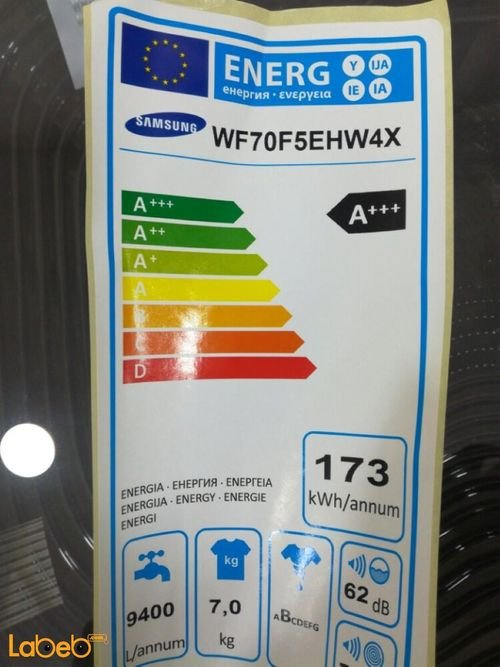 specifications Samsung Front Load Washing Machine WF70F5EHW4X