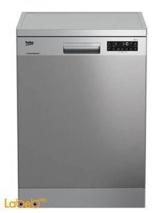Beko dishwasher - 13 seats - 8 Programs - silver color - DFN28320X
