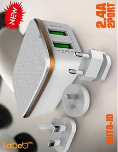 ldnio home charger - 2 USB ports - White color - A2204 model