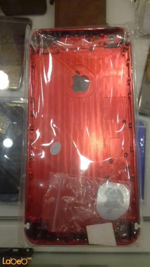 red Apple iPhone 6 plus mobile back cover