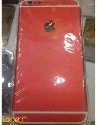 غطاء خلفي للموبايل أبل لأيفون 6 بلس 5.5 انش لون أحمر