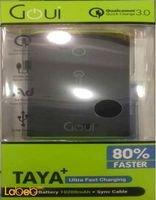 Goui Taya+ 2USB portable battery 10200mAh black G-EBQ12K01K