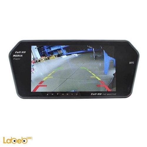 شاشة للسيارة مع كاميرا خلفية 7 انش فل HD بلوتوث