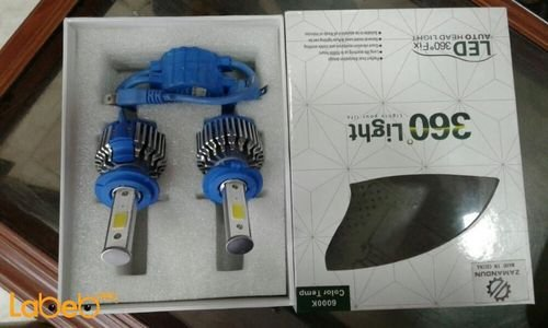 Auto head LED light 360° light 40W for all vehicles kinds