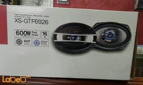 SONY Xplod 3-Way Car Speaker  XS-GTF6926 6x9 inch 600W