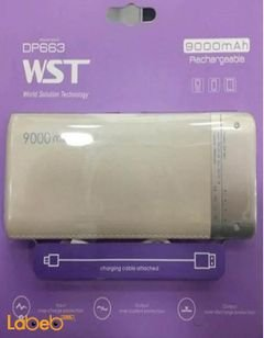 Wst powerbank - 9000 mAh - white color - Dp663 model