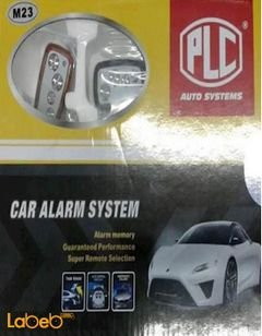 PLC Car Alarm System - remote control - M23 model