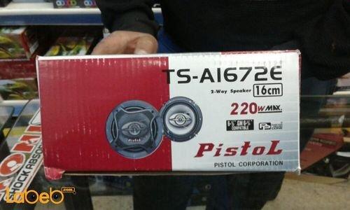 Pistol 2-way speaker 220Watt 16cm TS-A1672E