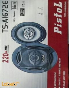 Pistol 2-way speaker - 220Watt - 16cm - TS-A1672E