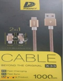 Pidan Beyond the Original cable - 1m - Black color - X33 model