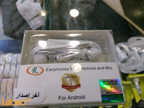 R Earphones with Remote and mic