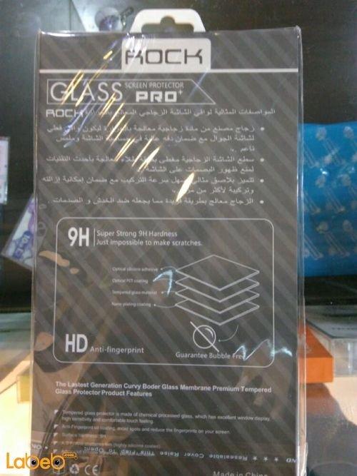 مواصفات واقي شاشة زجاجي ROCK مناسب لايفون 7 معالج بالحراره 9H