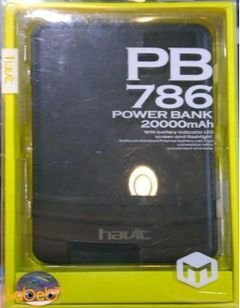 Havit power bank - 20000mAh - Black color - HV-PB786 model