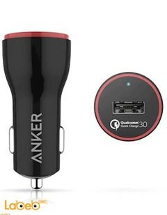 Anker PowerDrive+1 Car Charger - USB3.0 Port - Black - A2210011