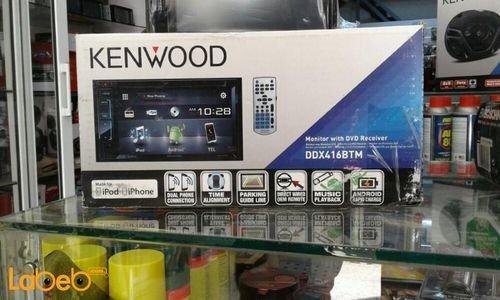 شاشة سيارة LCD مع جهاز استقبال كينوود شاشة 6.2 انش DDX416BTM