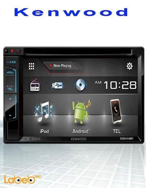 شاشة سيارة LCD مع جهاز استقبال كينوود 6.2 انش DDX416BTM