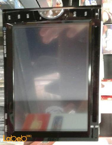 شاشة سيارة LED من Xspung - حجم 6.8 انش - منفذ USB - لون أسود